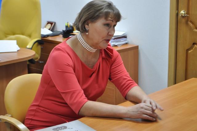 Председатель Чувашского землячества в Украине Надежда Лисовая