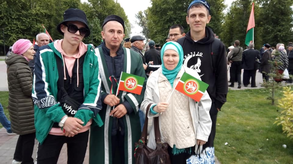 "Фаузия Байрамова и члены организации ""Азатлык"""