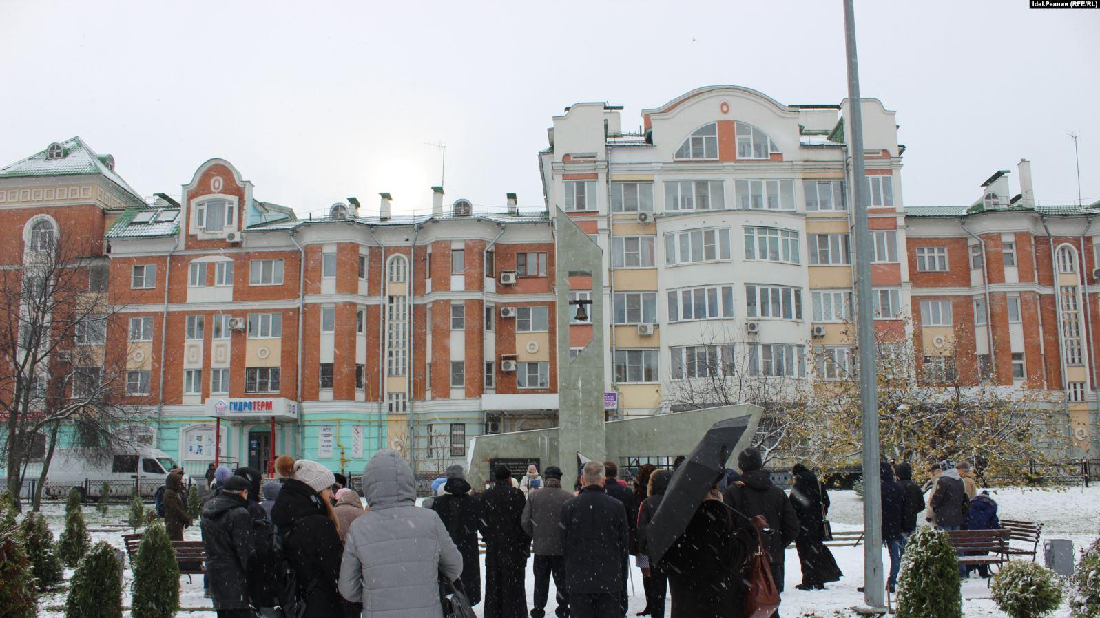 Митинг памяти жертв репрессий. Йошакр-Ола, 2019 г.