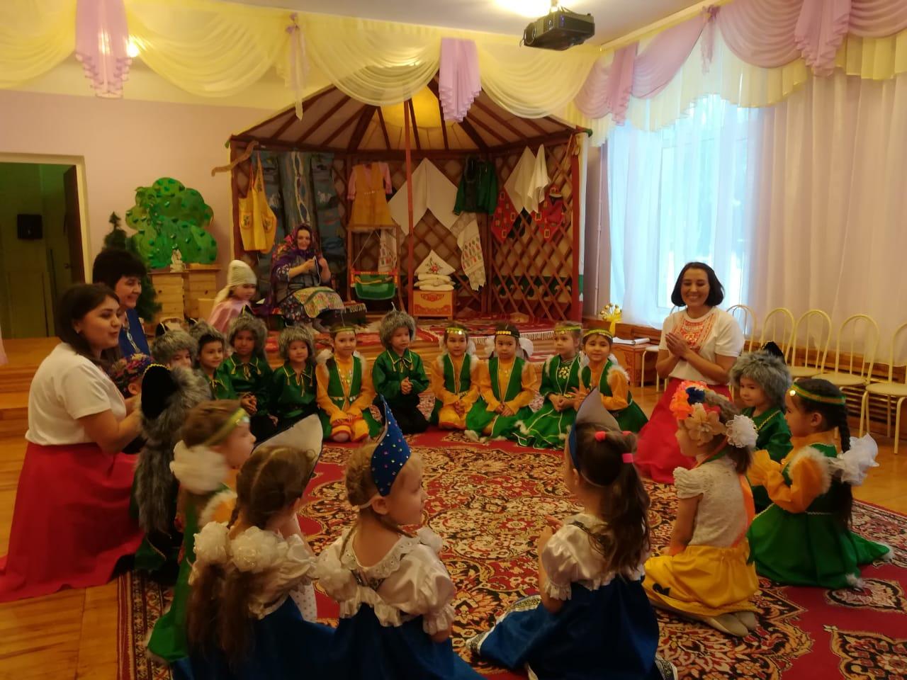 Башкирский детский сад