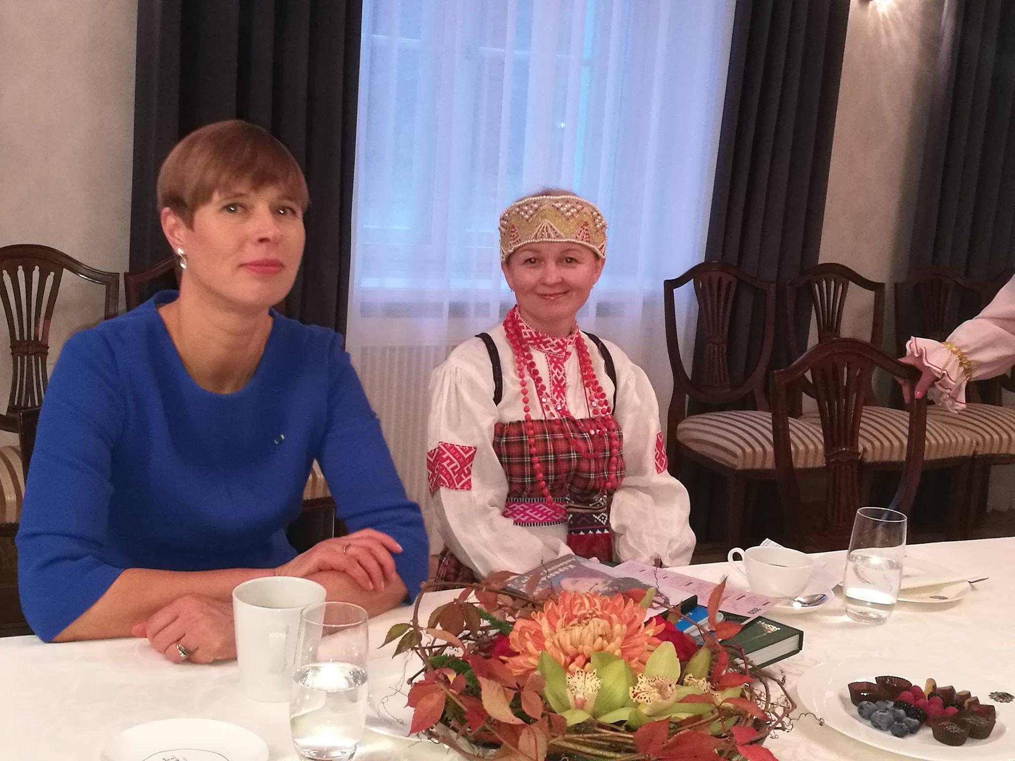 Керсти Кальюлайд да Полина Итальева