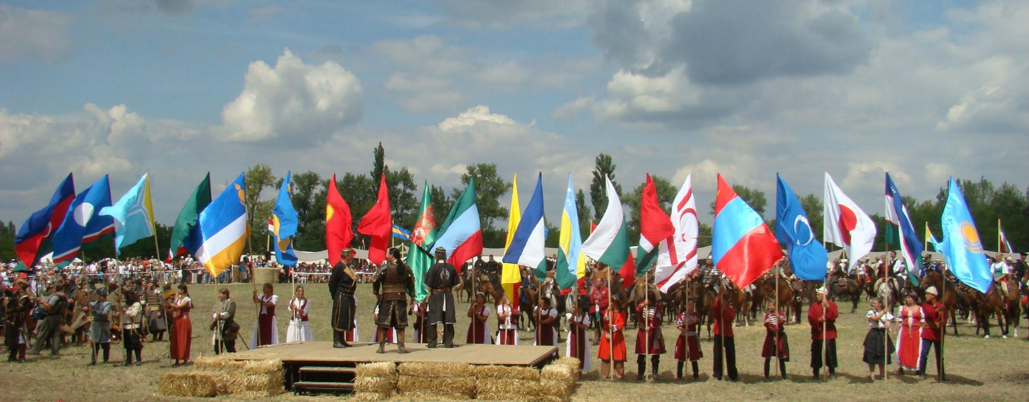 Фонтан тюркских народов